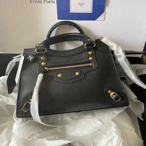 SOLD BALENCIAGA $2300 Classic City Small Bag Black